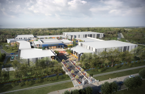 """Elvis Presley's Graceland® announced the official opening date for its new, $45 million, 200,000 square-foot, state-of-the-art entertainment complex, now named """"Elvis Presley's Memphis™"""", which is currently under construction across the street from Graceland Mansion. (Photo: Business Wire)"""