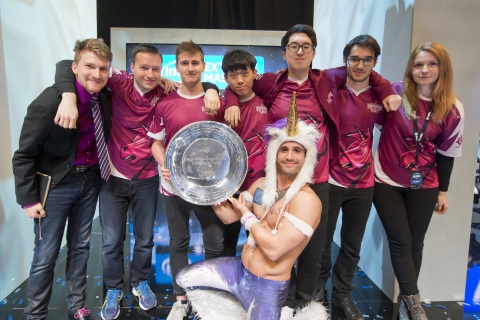 Team Unicorns of Love came out ahead over Flashwolves in a nail-biting, best-of-five competition to  ...