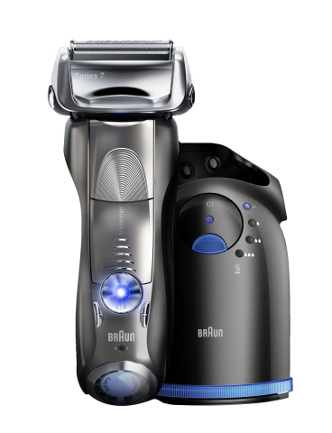 Braun Series 7 shaver: Does in the first stroke what others do in two with intelligent Sonic Technology (Photo: Business Wire)
