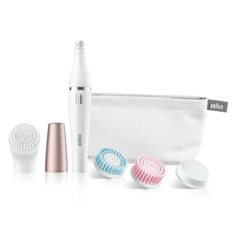 FaceSpa: Give the gift of fresh-faced-confidence this holiday season! Braun FaceSpa brings together two beauty treatments: facial epilation and facial cleansing brushes to help achieve a smooth and radiant complexion (Photo: Business Wire)