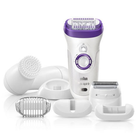 SE9: Braun's fastest and most precise epilation ever, the Braun Silk-épil 9 Epilator removes 4x shorter hair than wax so women can achieve long-lasting smooth skin for up to 4 weeks (Photo: Business Wire)