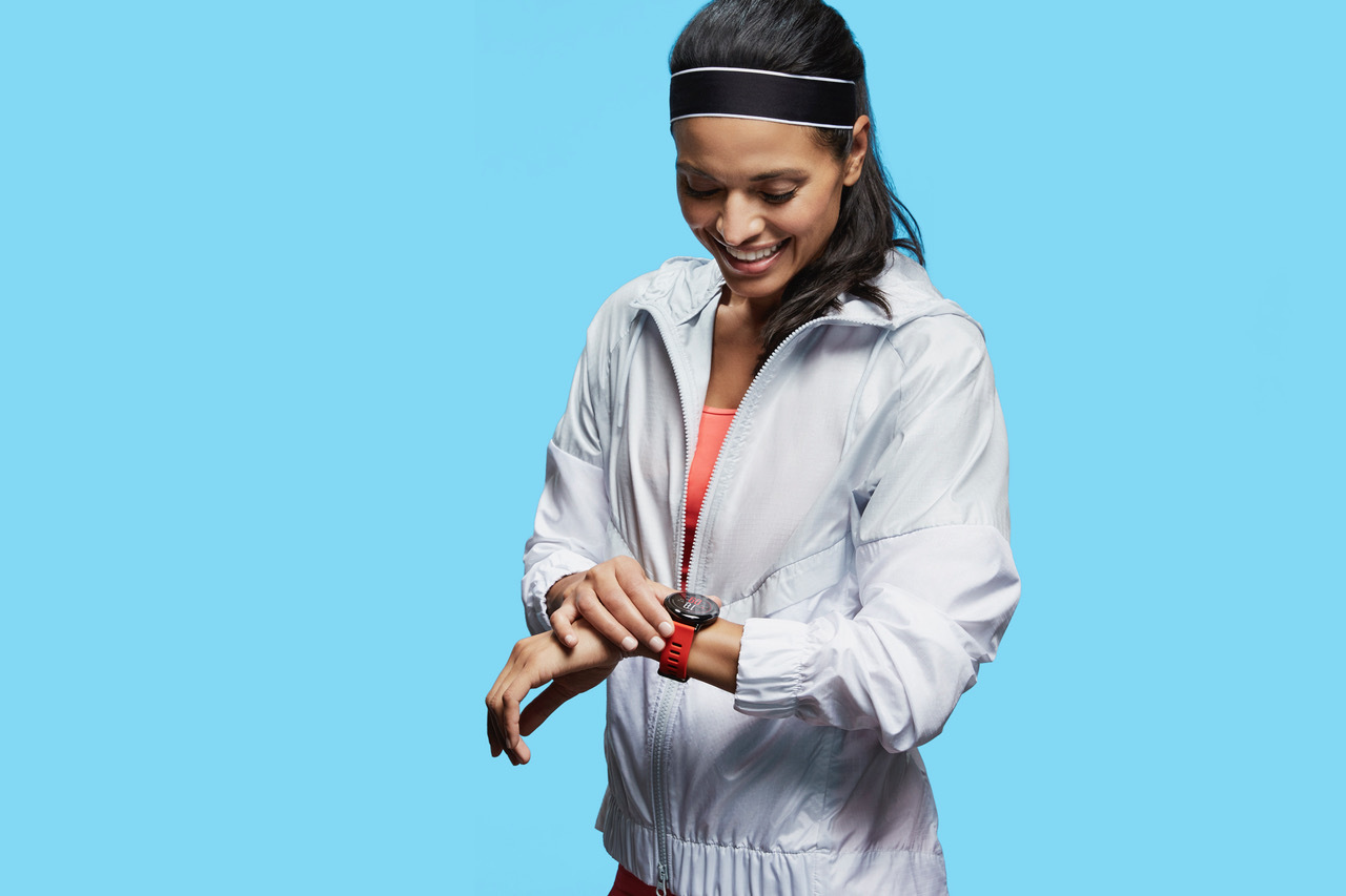 Amazfit PACE features fitness and sleep tracking, heart rate monitoring, 11-day battery life, Wi-Fi, GPS, elevation tracking and onboard music storage for phone-free running. (Photo: Business Wire)