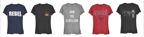 Stars of Rogue One along with talent across music, film, fashion and sports team up to be a #ForceForChange. 'Force 4 Fashion' Line to be Sold Exclusively at Target from November 27. (Photo: Business Wire)