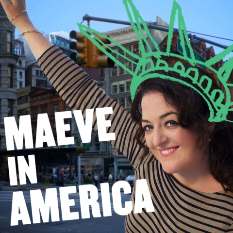 Maeve In America featuring Comedian Maeve Higgins. (Photo: First Look Media)