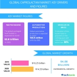 Technavio publishes a new market research report on the global caprolactam market from 2016-2020. (Graphic: Business Wire)