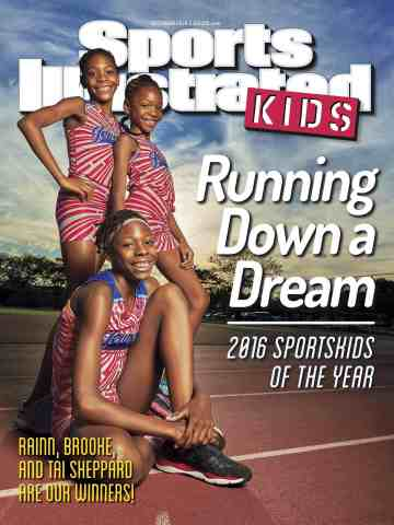 Junior Olympian Track Star Sheppard Sisters are the Sports Illustrated Kids 2016 SportsKids of the Y ...