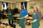 Axalta employees volunteered to serve lunch at the Ministry of Caring to recognize National Hunger and Homelessness week. (Photo: Axalta)