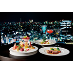 """Sky Lounge """"Aurora"""" which opens on December 7th will offer a panoramic view of Tokyo's dynamic cityscape, Keio Plaza's renowned bartenders and chefs, and a wide range of tantalizing drinks and delicious cuisine from the afternoon into the late evening. (Photo: Business Wire)"""