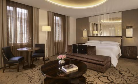Sheraton Hotels & Resorts - Sheraton Grand London Park Lane - Art Deco Suite (Photo: Business Wire)