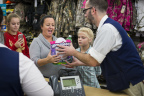 Happy Walmart customer reacts to receiving a Hatchimal, one of the season's hottest toys. (Photo: Business Wire)