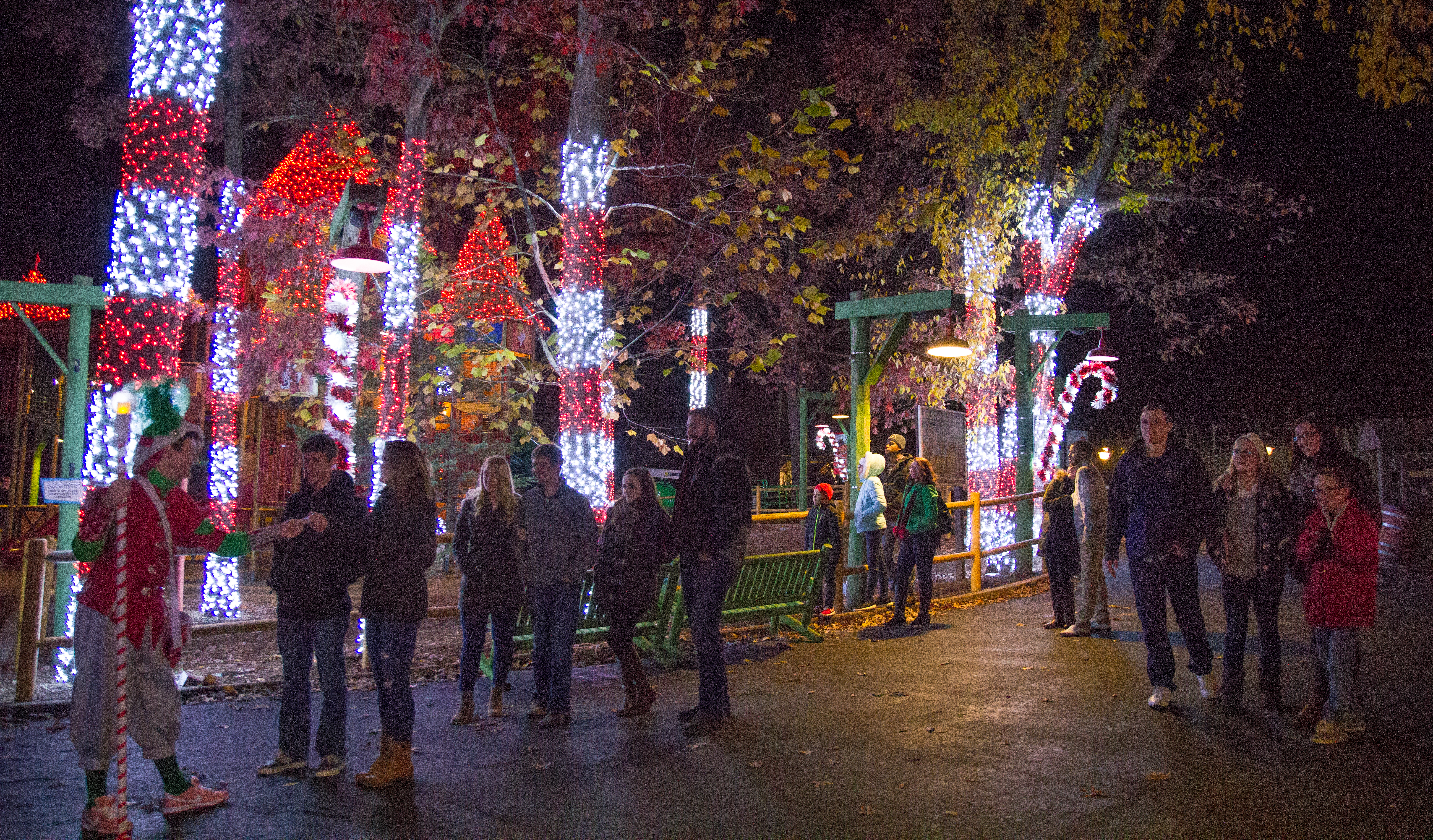 six flags st louis introduces first holiday in the park