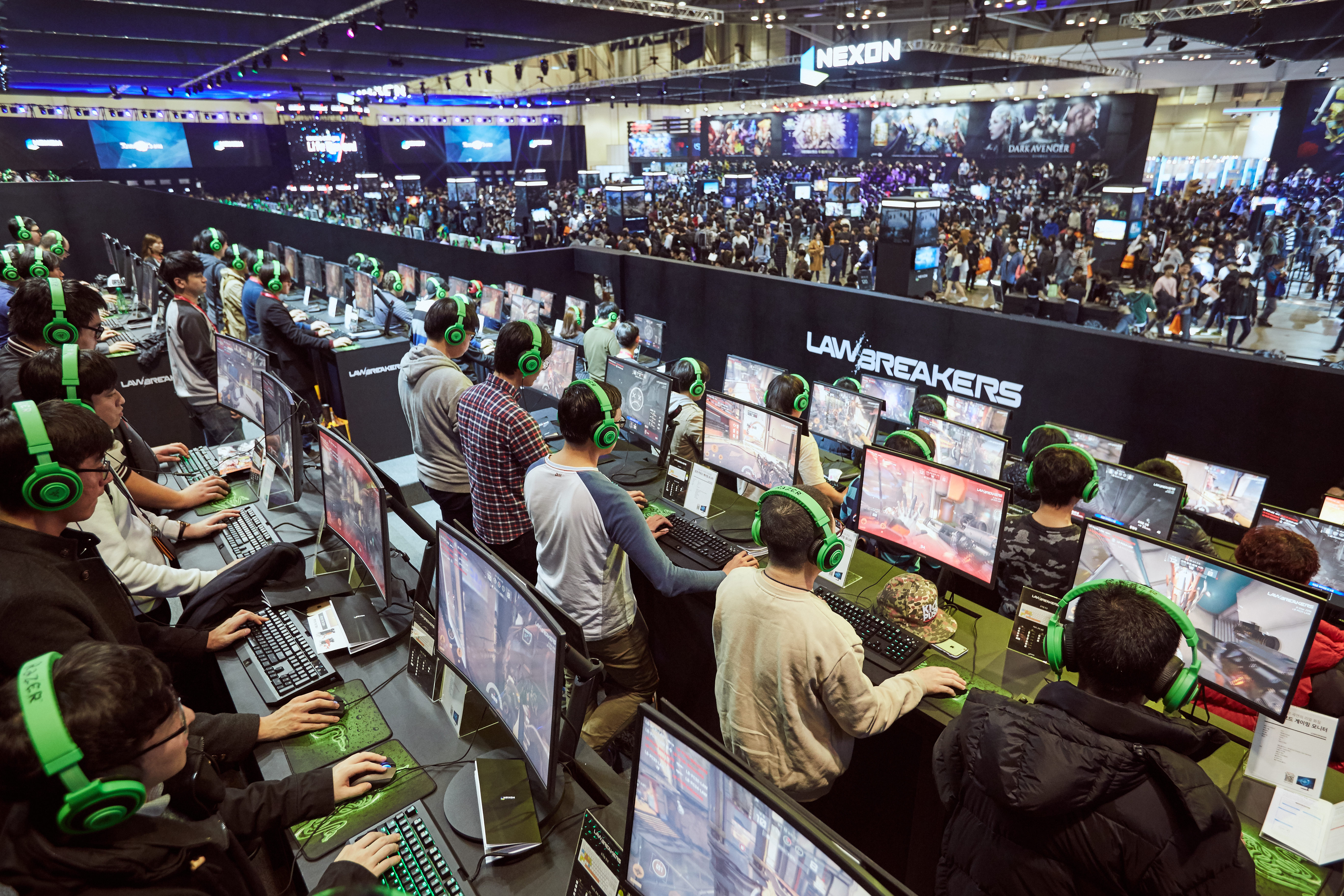 """Global game exhibition """"G-STAR 2016"""" breaks new attendance record. (Photo: Business Wire)"""