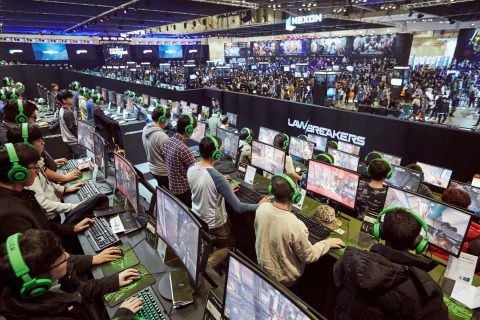 "Global game exhibition ""G-STAR 2016"" breaks new attendance record. (Photo: Business Wire)"