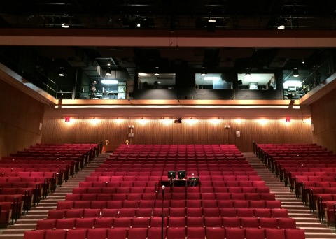 The project will upgrade the stage lighting and air conditioning system at the Cultural Arts Center Theater at Rockland Community College. (Photo: Business Wire)