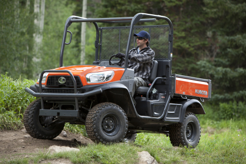 Kubota's RTV X-Series, including the X900 pictured here, is built by Kubota Manufacturing of America located in Gainesville, Georgia. (Photo: Business Wire)