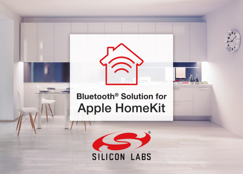 Silicon Labs' Bluetooth solution for Apple HomeKit helps developers speed time to market. (Photo: Bu ...