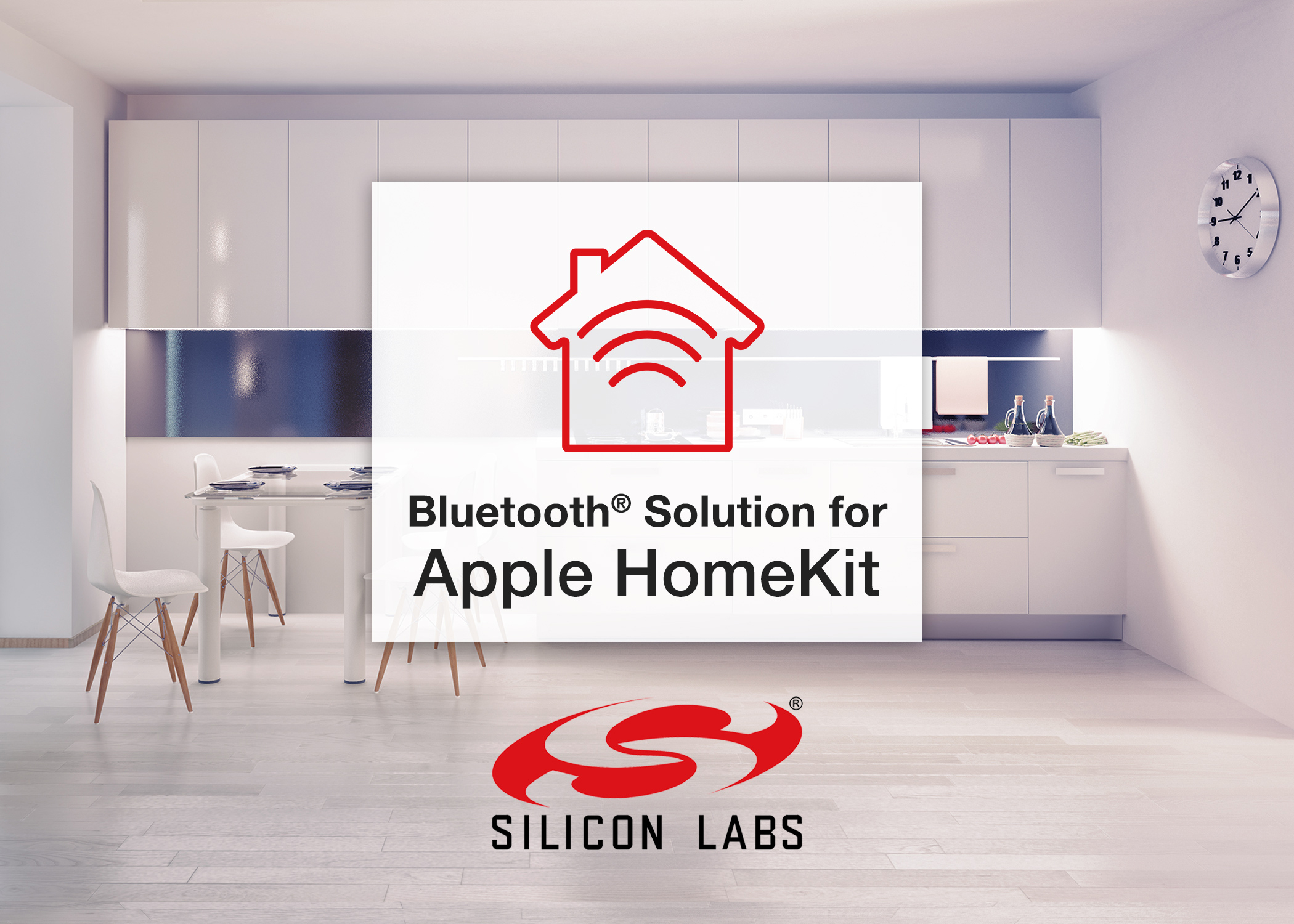 Silicon Labs' Bluetooth solution for Apple HomeKit helps developers speed time to market. (Photo: Business Wire)