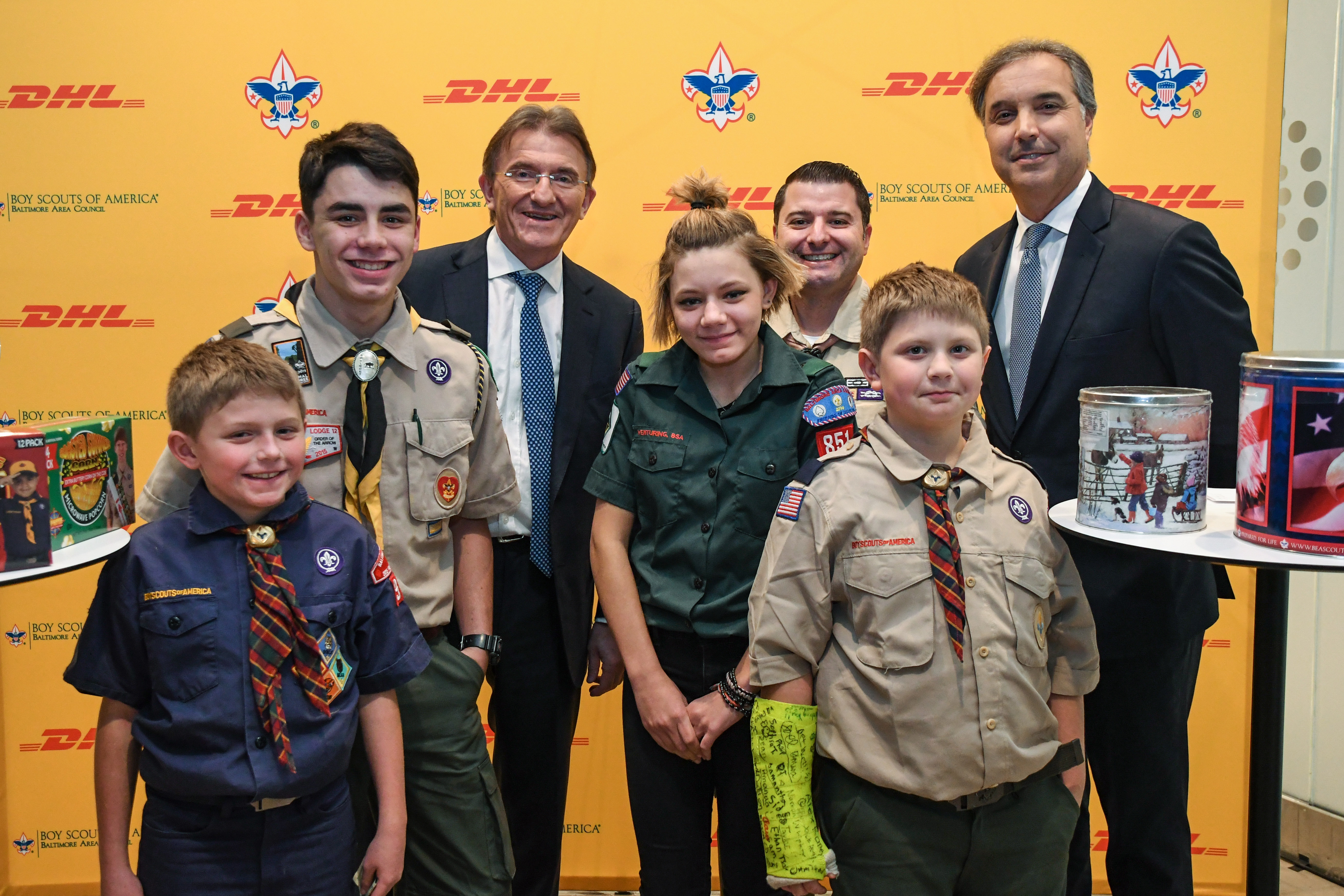 DHL and the Boy Scouts of America Jumpstart Holiday Season ...