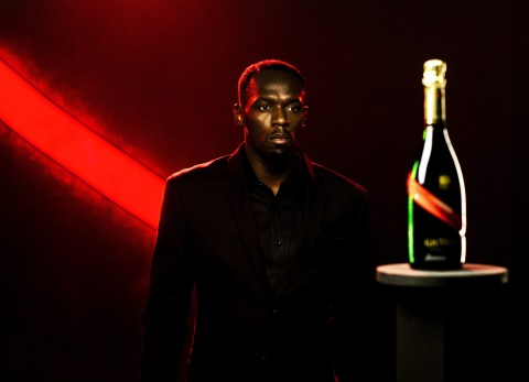 Usain Bolt, the new CEO of Maison Mumm (Photo: Business Wire)