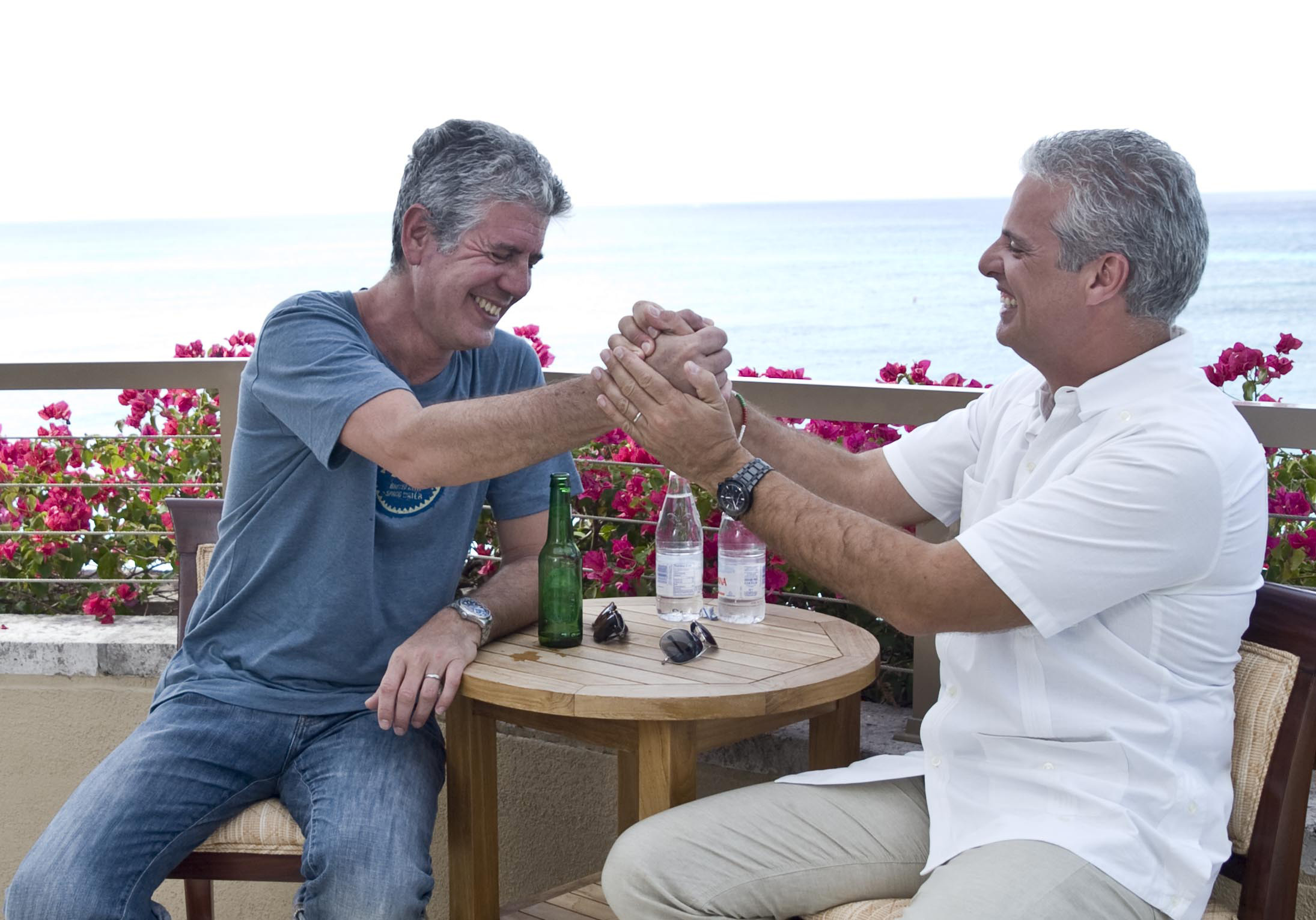Anthony Bourdain and Eric Ripert (Photo: Business Wire)
