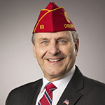 National Commander Charles E. Schmidt (Photo: Business Wire)