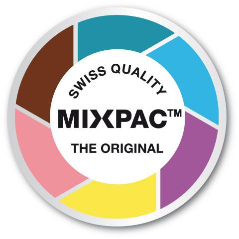 """Das neue Label in den geschützten """"Candy Colors"""" von Sulzer soll die Erkennbarkeit der Originale zusätzlich vereinfachen."""