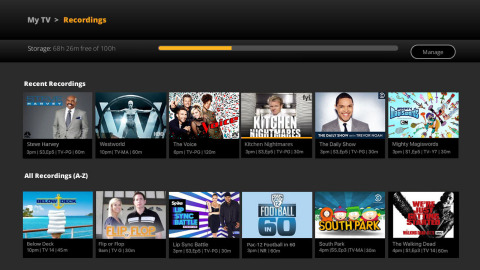 Sling TV's new cloud DVR beta program will offer up to 100 hours cloud DVR storage at no charge, at  ...