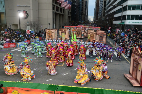 The Philadelphia Mummers Parade, held each New Years Day, is believed to be America's oldest folk festival. (Photo: Business Wire)