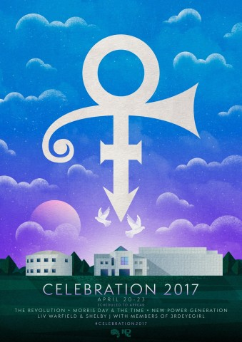 Prince's Paisley Park in Chanhassen, Minnesota has announced dates for a four-day special event, CELEBRATION 2017, which will honor and celebrate the life and legacy of Prince, as the world marks the first anniversary of his passing. (Graphic: Business Wire)