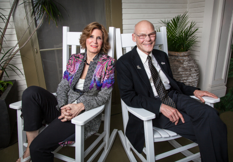James Carville and Mary Matalin (Photo: Business Wire)