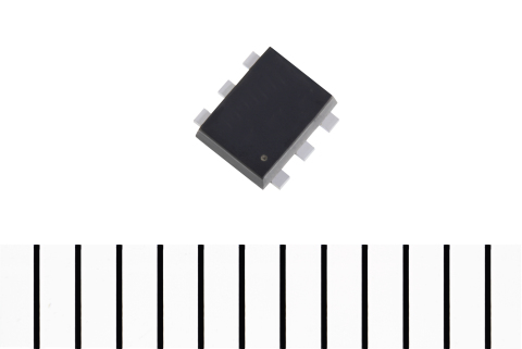 東芝:高許容損失の小型パッケージを採用したモバイル機器のロードスイッチ用低オン抵抗MOSFET:SSM6J801R (写真:ビジネスワイヤ)