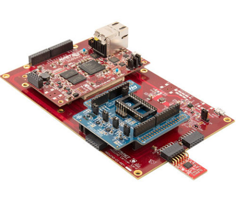 MicroZed™ Industrial IoT Kit with Avnet-designed Infineon TPM V1.2 Pmod (Photo: Business Wire)