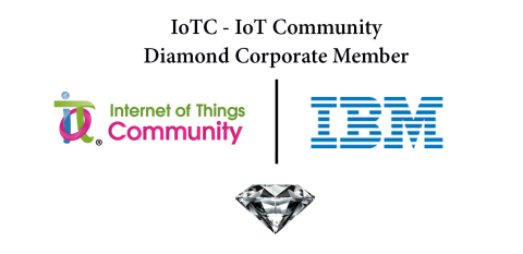 IoT Community Announces IBM as a Diamond Corporate Member