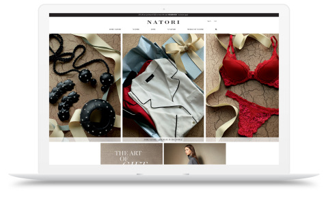 The new Natori.com gives customers access to a streamlined, fully-responsive site where they can shop from a diverse collection of lifestyle products. (Photo: Business Wire)