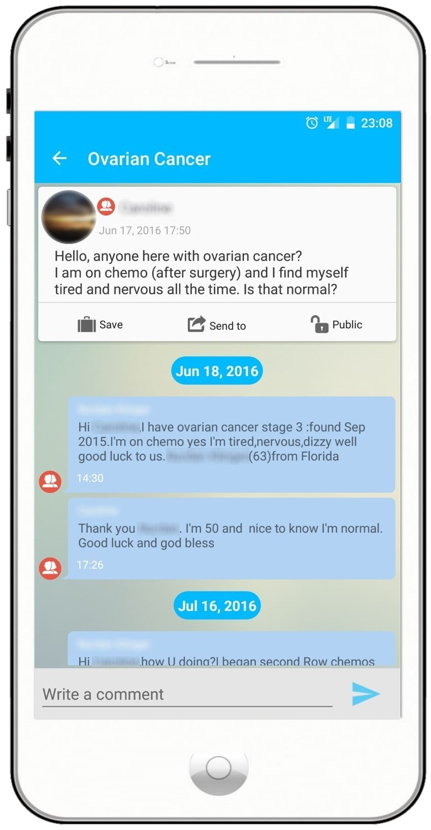 Have Cancer? Use Your Mobile Device to Control Your Journey ...