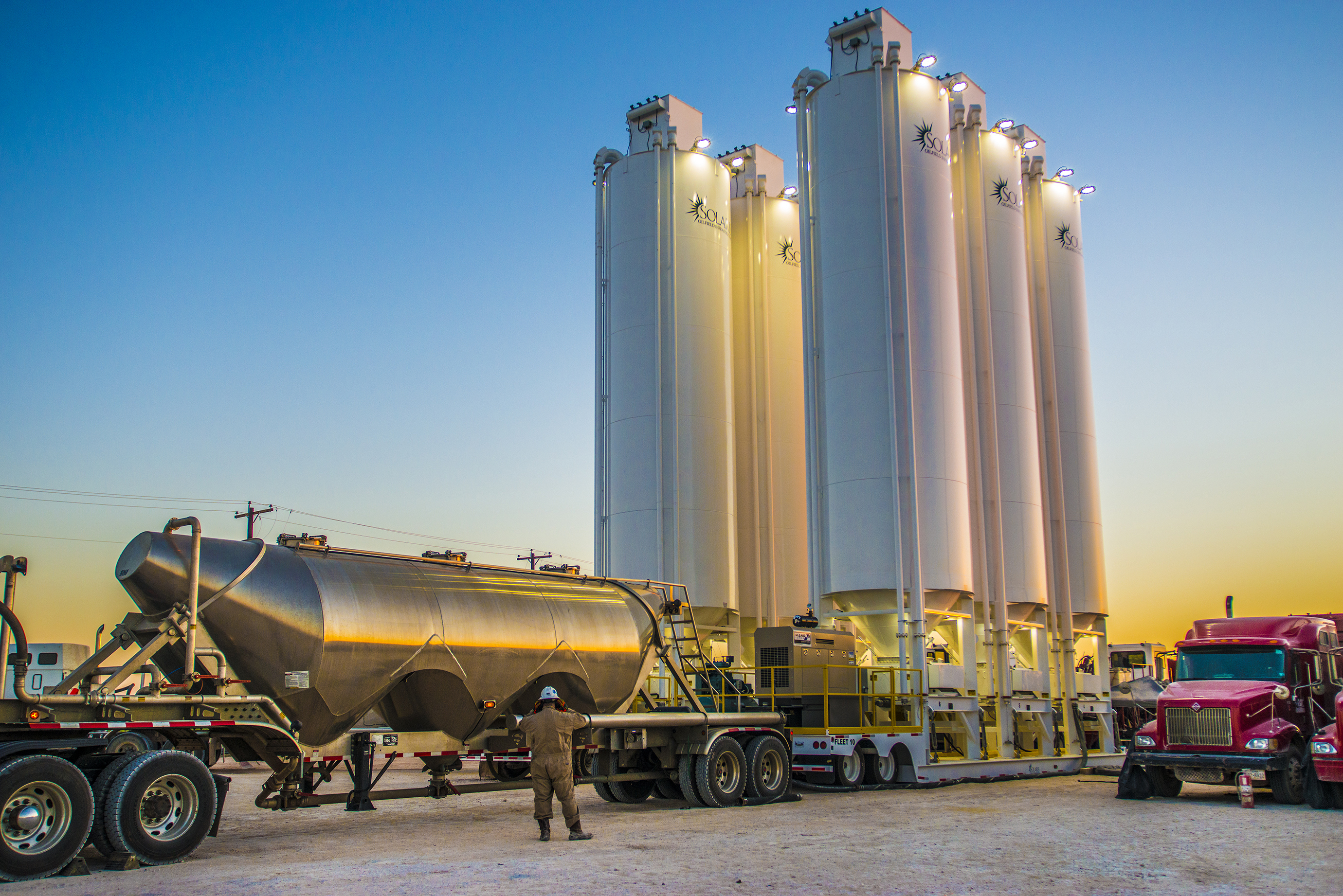 Solaris Oilfield Infrastructure Ramps up Manufacturing Rate