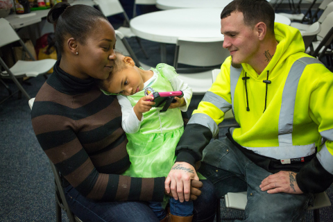 """With family homelessness at a crisis point, King County's business leaders are joining an unprecedented employer-led effort to raise more than $3 million to ensure """"No Child Sleeps Outside"""" (Photo: Business Wire)"""