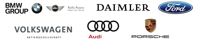Bmw Group Daimler Ag Ford Motor Company And Volkswagen Group With