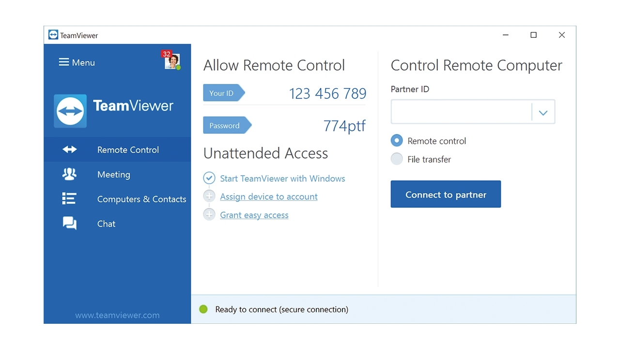 The user interface of TeamViewer 12 allows for simpler usability (Graphic: Business Wire)
