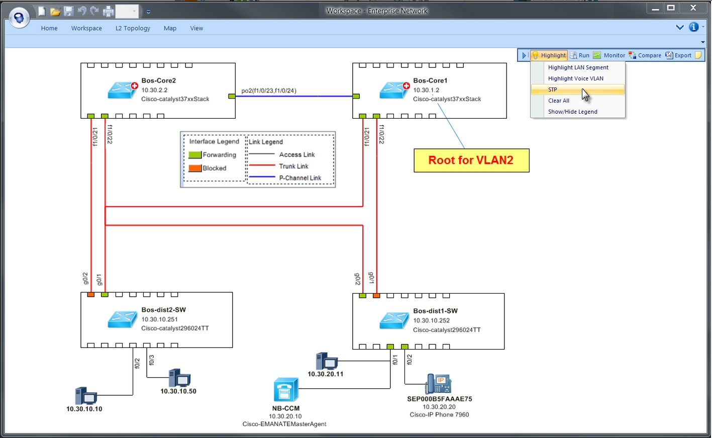 Diagnose Spanning-Tree on a Live Map (Graphic: Business Wire)
