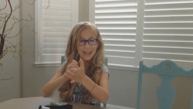 Ellie checks her blood sugar over 11 times a day with Genteel, and gives her fingers a break!