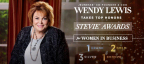 Wendy Lewis, Co-founder and COO of Jeunesse received six Stevie Awards, making her the top individual award-winner in the 2016 Stevie Awards for Women in Business. (Photo: Business Wire)