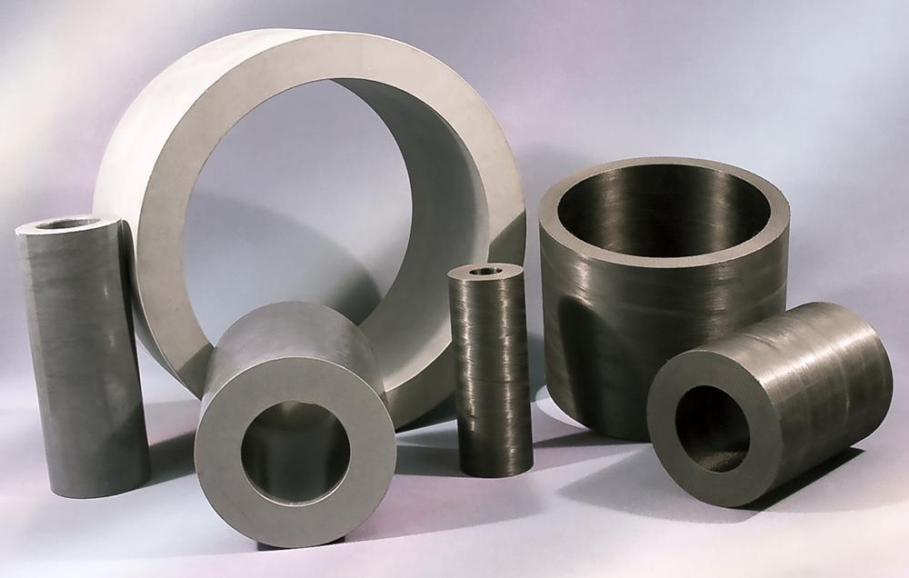Advanced Thermoplastics WR®525 and AR®HT Stock Shapes (Billets) (Photo: Greene, Tweed)