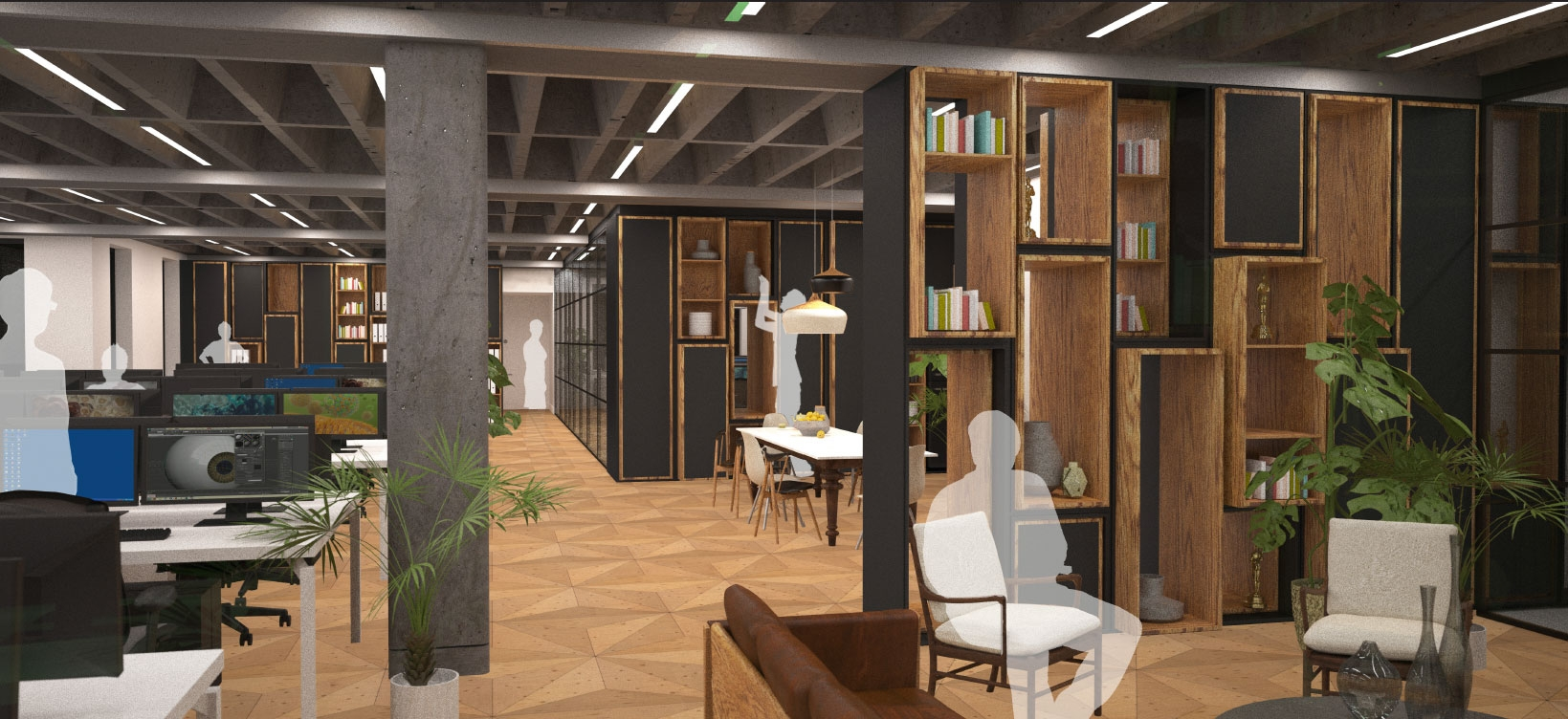 Architectural rendering of Random42's new offices (Photo: Business Wire)