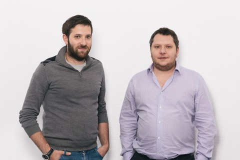Rocket10's founders - Boris Abaev (left) and Alex Kukuliev (right) (Photo: Business Wire)