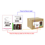"Toshiba Tec Corporation introduces its ""Form & Label Solution"" to save on shipping costs while optimizing logistics operations. This solution enables easy, yet precise shipping via its multifunction peripheral (MFP). Toshiba's Form & Label Solution combines many types of documents within one combination label. (Graphic: Business Wire)"