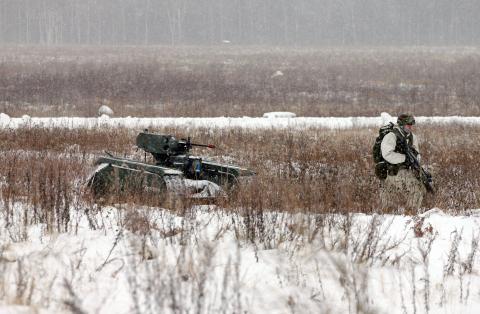 Milrem: vehículos terrestres no tripulados y armados, el futuro del campo de batalla