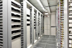 A view into Vetter's new data processing center; part of the company's activities that allow for early preparation of future digitalization developments. (Photo: Business Wire)
