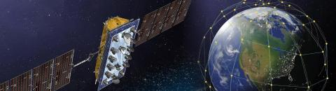 LeoSat Satellite Constellation (Photo: Business Wire)