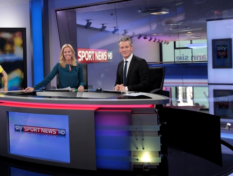 SES: MX1 BRINGS SKY SPORT NEWS HD FREE-TO-AIR CHANNEL VIA SATELLITE (Photo Credit: Sky.)(Photo: Business Wire)
